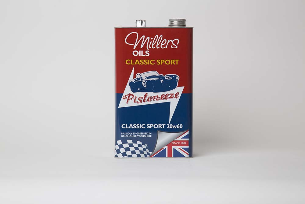 picture of Miller Classic 20w60 Sport oil can